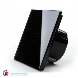 Intrerupator touch standard - negru